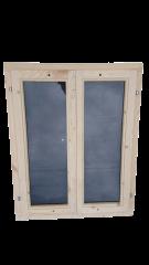 Окно из сосны 800х700