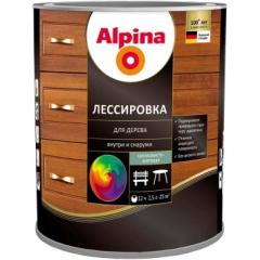 Лессировка для дерева ALPINA, орех 2,5л