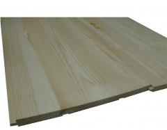 Стеновая панель АВ-сосна 13х220х1500