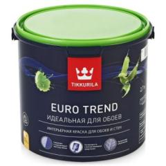 Краска БЕЛАЯ EURO TREND интерьерная 2,7л