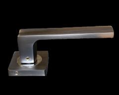 Ручка раздельная A52-L17 GF/CP (графит/хром) MARLOK